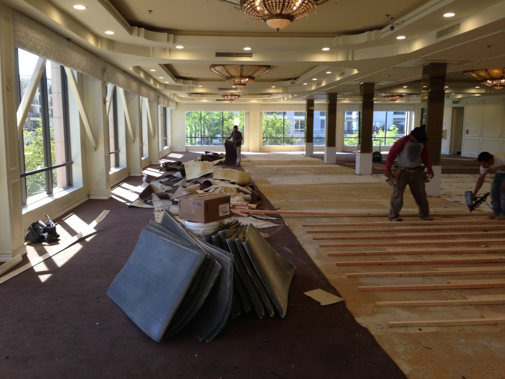 Brandview Ballroom Carpet Remodel-2