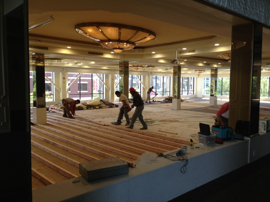 Brandview Ballroom Carpet Remodel-3
