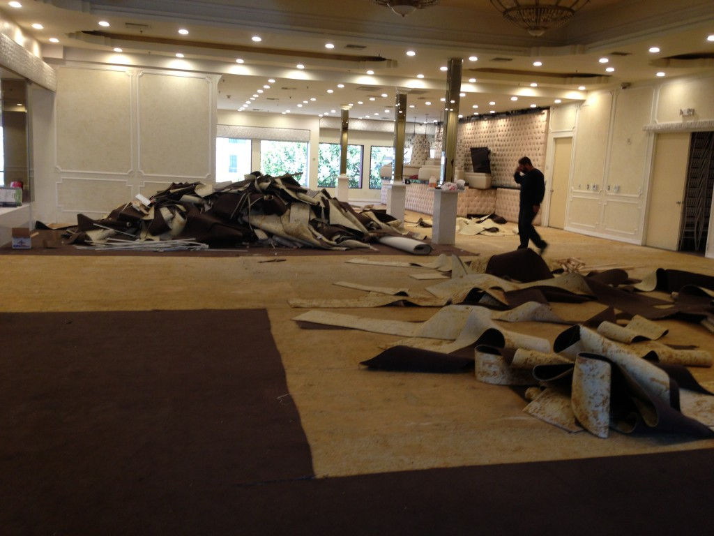 Brandview Ballroom Carpet Remodel-4