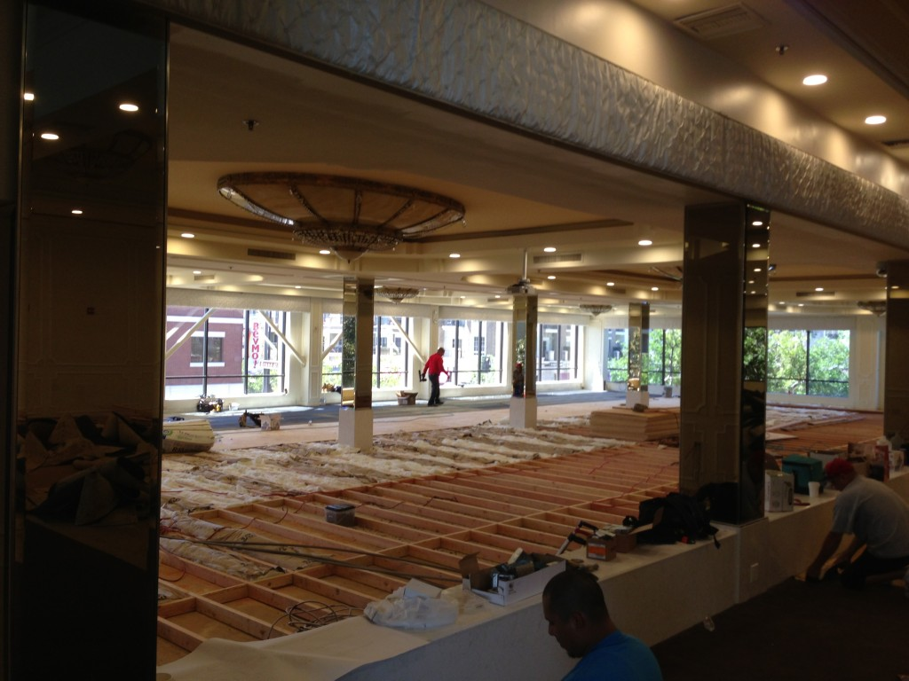 Brandview Ballroom Carpet Remodel-5