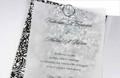 Parchment Paper Wedding Invitations : sciencewikis.org