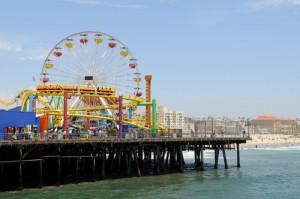 Santa Monica pier Labanquets.com