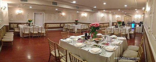 Event set-up L.A. Banquets