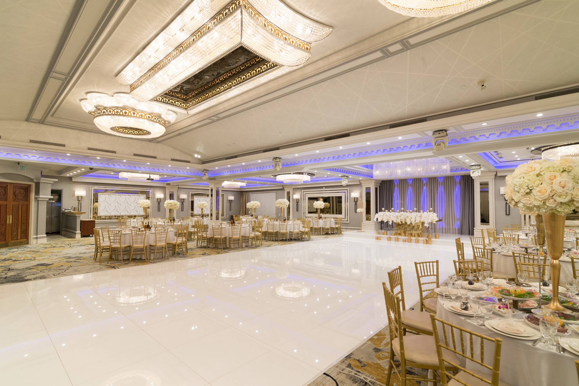 contemporary event wedding venues in glendale ca glenoaks ballroom