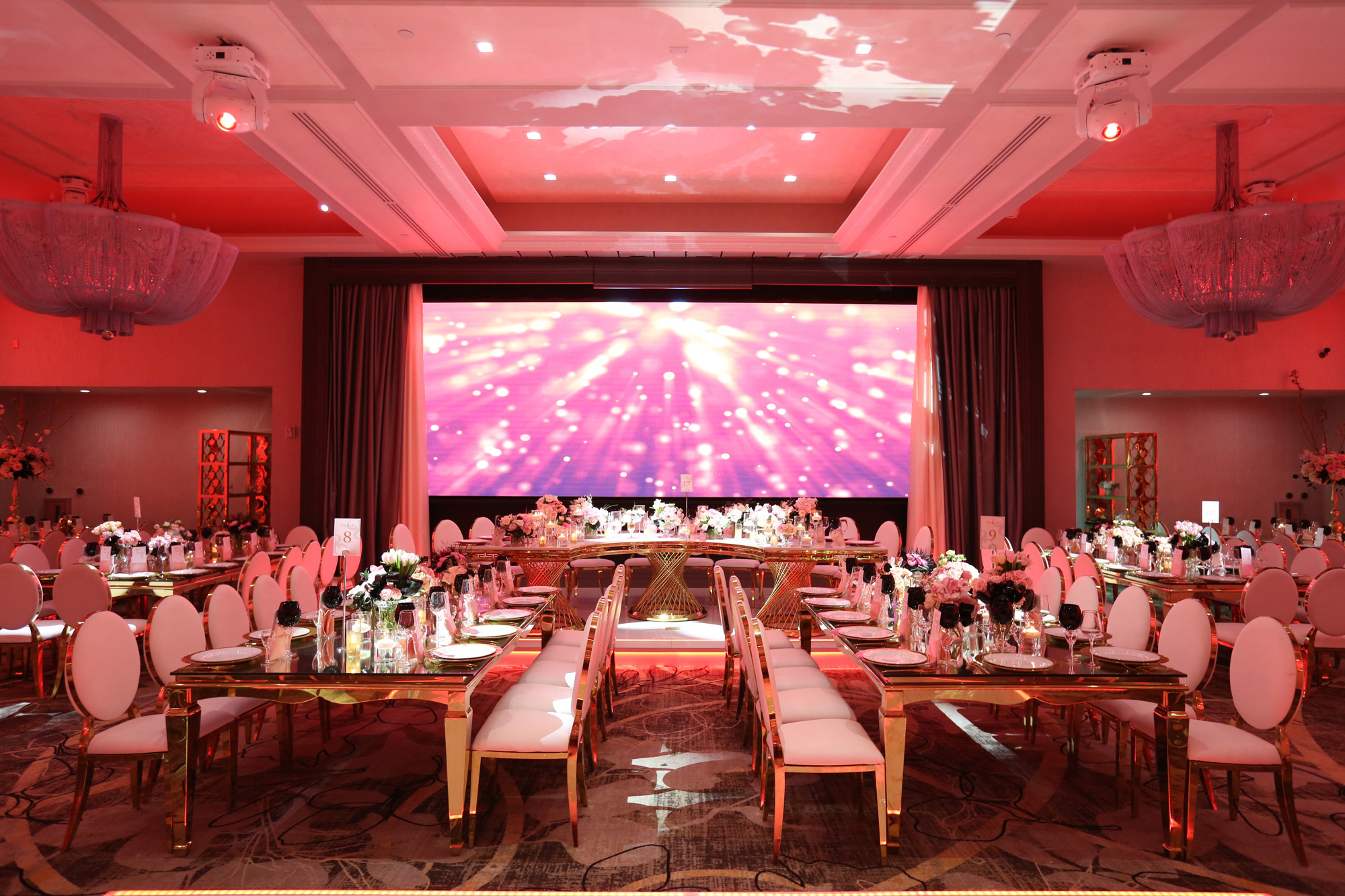 Modern Wedding Venue- Legacy Ballroom | LABanquets