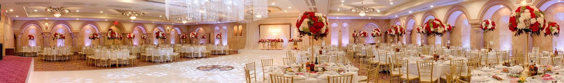 Panoramic of los angeles wedding venue