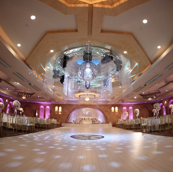 White dance floor north hollywood banquet hall