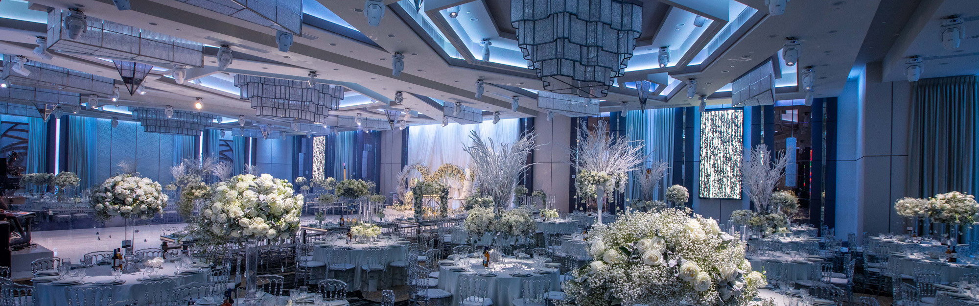 Panoramic view of Wedding Venue in Glendale